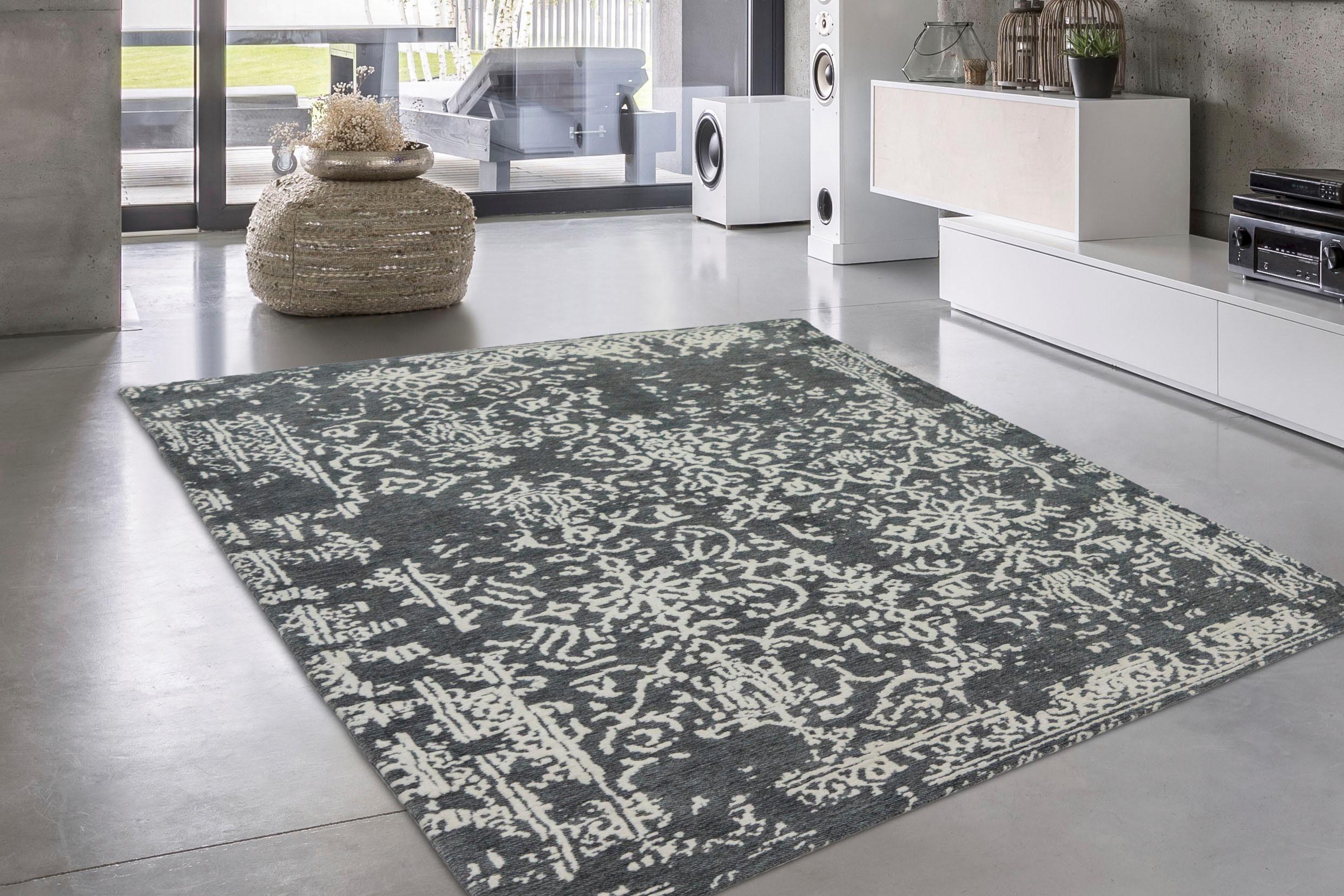 Teppich Davin INOSIGN rechteckig Höhe 10 mm handgewebt
