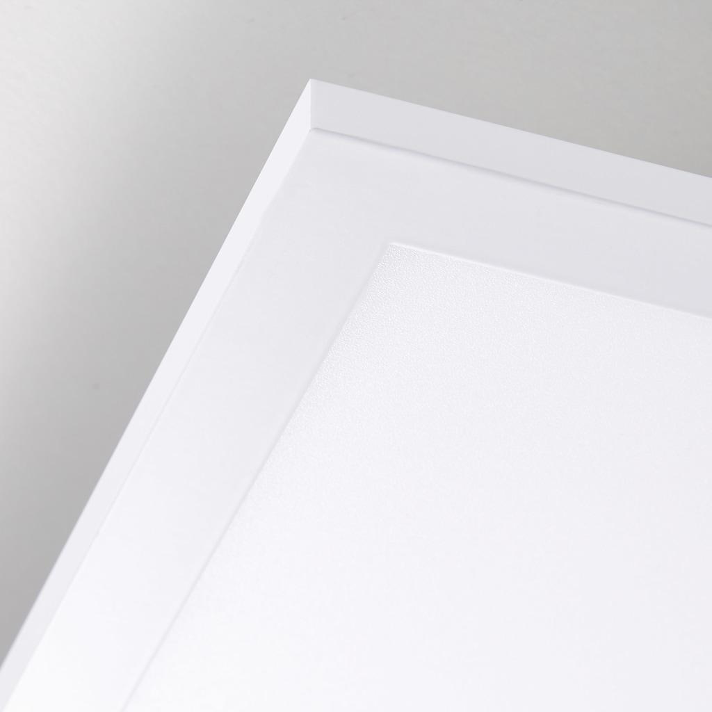 Brilliant Leuchten Buffi LED Deckenaufbau-Paneel 75x75cm weiß/kaltweiß