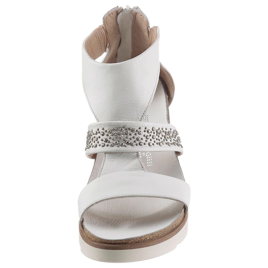 Mjus Sandalette »TAPASITA«, mit glänzenden Nieten