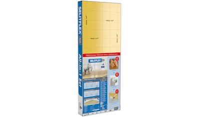 Selit Trittschalldämmplatte »SELITFLEX«, 10 mm Thermo, 2-in-1 Dämmunterlage, für... kaufen