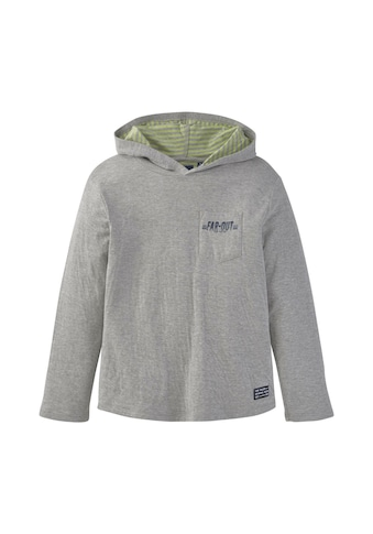 TOM TAILOR Longsweatshirt »Langarmshirt mit Kapuze« kaufen