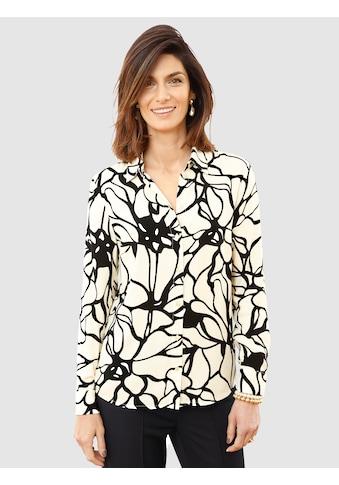 Mona Hemdbluse, mit floralem Muster kaufen
