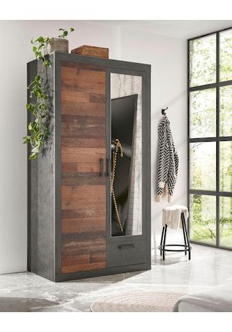 Home affaire Kleiderschrank »BROOKLYN«, in dekorativer Rahmenoptik kaufen
