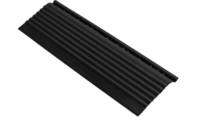 FLORCO Kantenleisten Seitenteil schwarz mit Öse, 30 cm kaufen