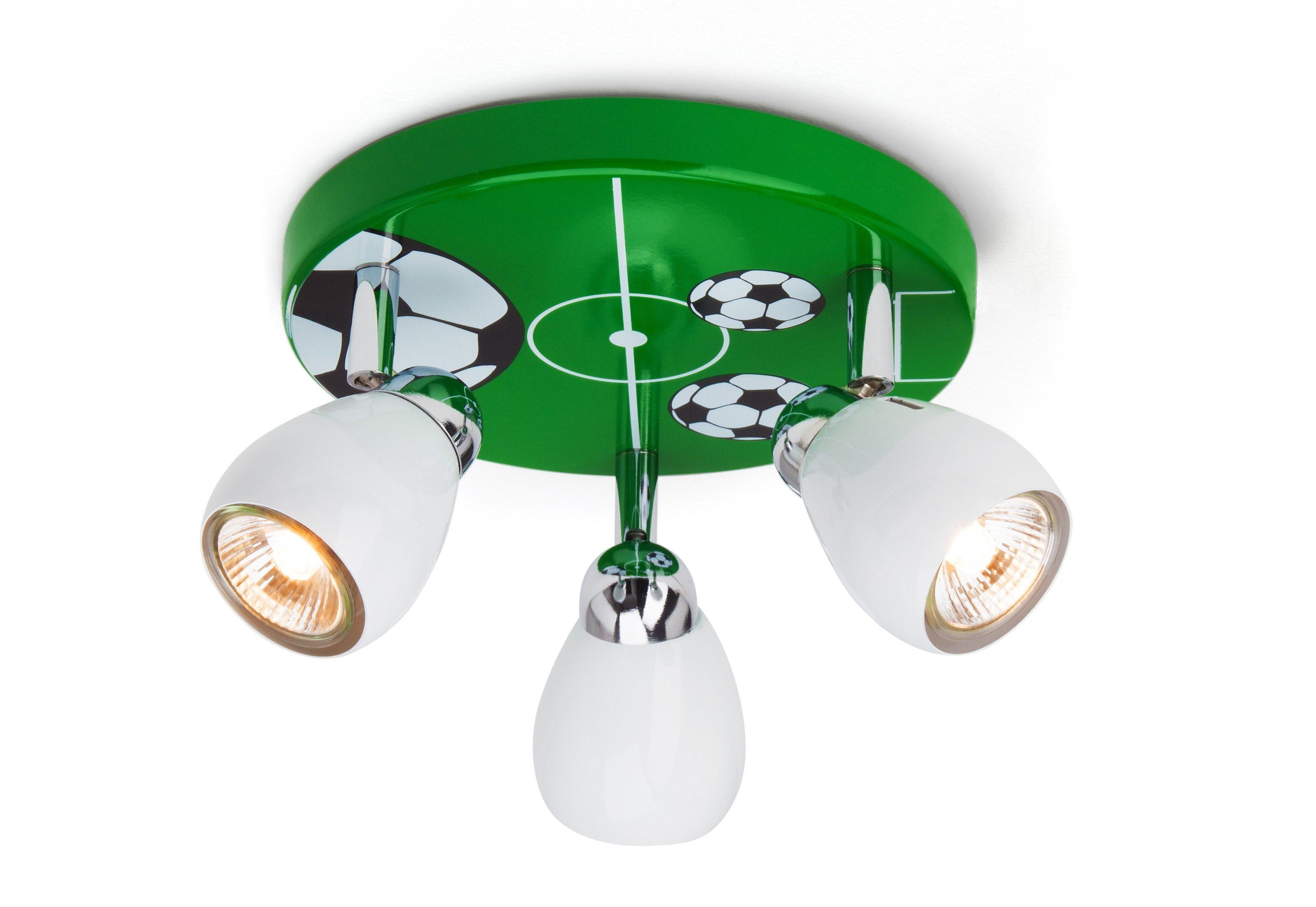 Brilliant Leuchten Deckenstrahler SOCCER, GU10, Warmweiß, Deckenlampe