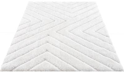 andas Hochflor-Teppich »Fiori«, rechteckig, 43 mm Höhe, Pastellfarben, Wohnzimmer kaufen