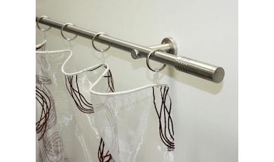 Gardinenstange, »Gardinenstangen Set Sigma Metall 1 - Lauf«, GARDINIA, Fixmaß kaufen