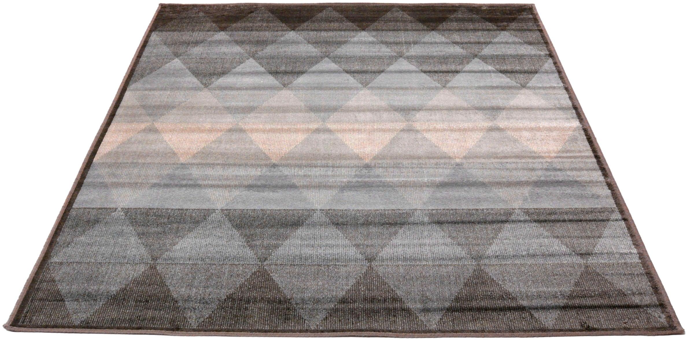Living Line Teppich Clara Raute, rechteckig, 4 mm Höhe, Vintage Design, Sei günstig online kaufen