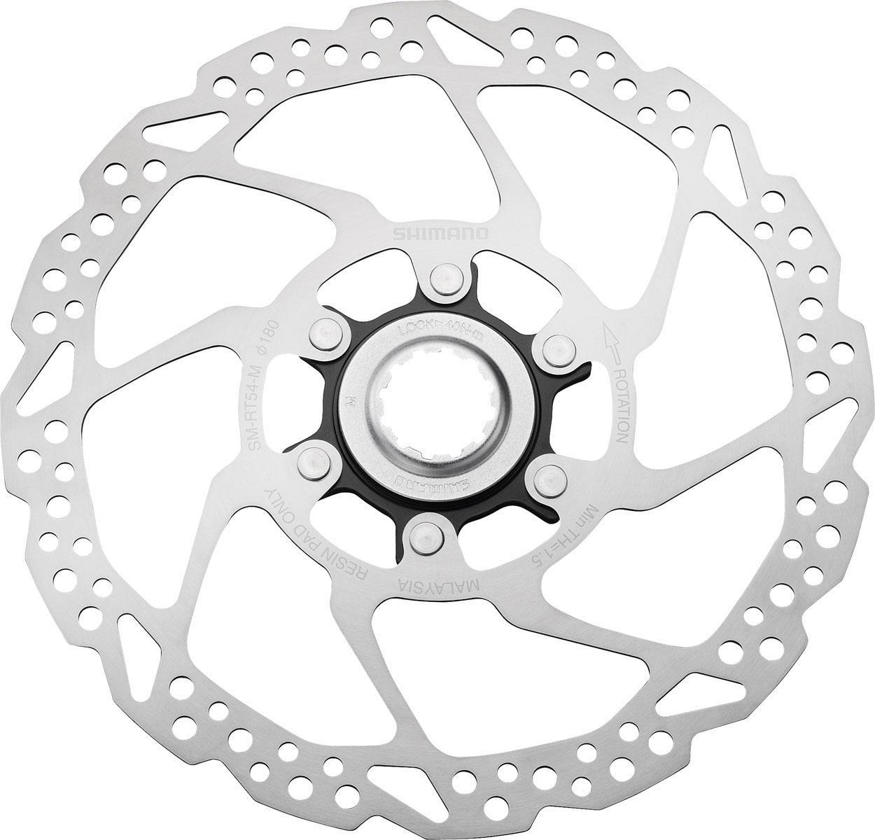 Shimano Bremsscheibe SM-RT54M (1-tlg) Technik & Freizeit/Sport & Freizeit/Fahrräder & Zubehör/Fahrradzubehör/Fahrradteile/Fahrradbremsen