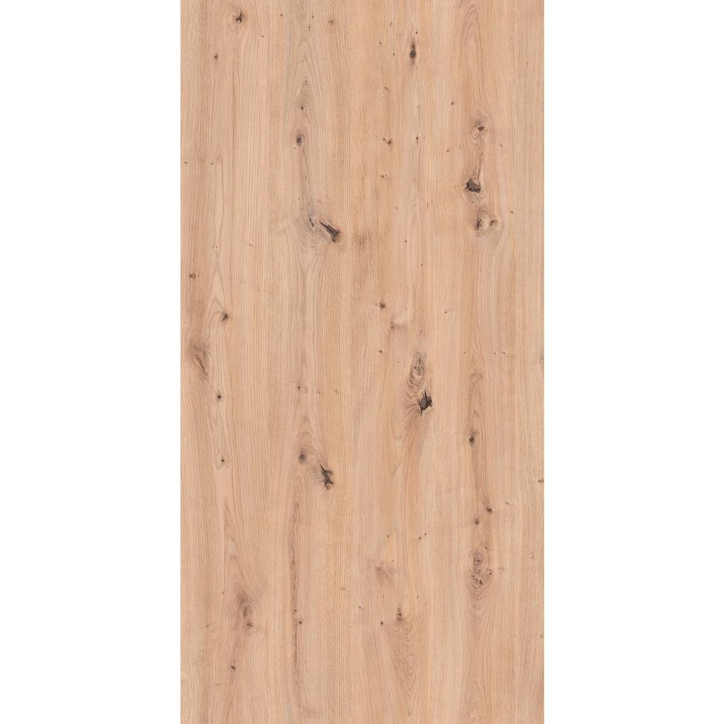 Homexperts Säulen-Esstisch »Marley Az«, ausziehbar, in 2 Größen (140 + 160)