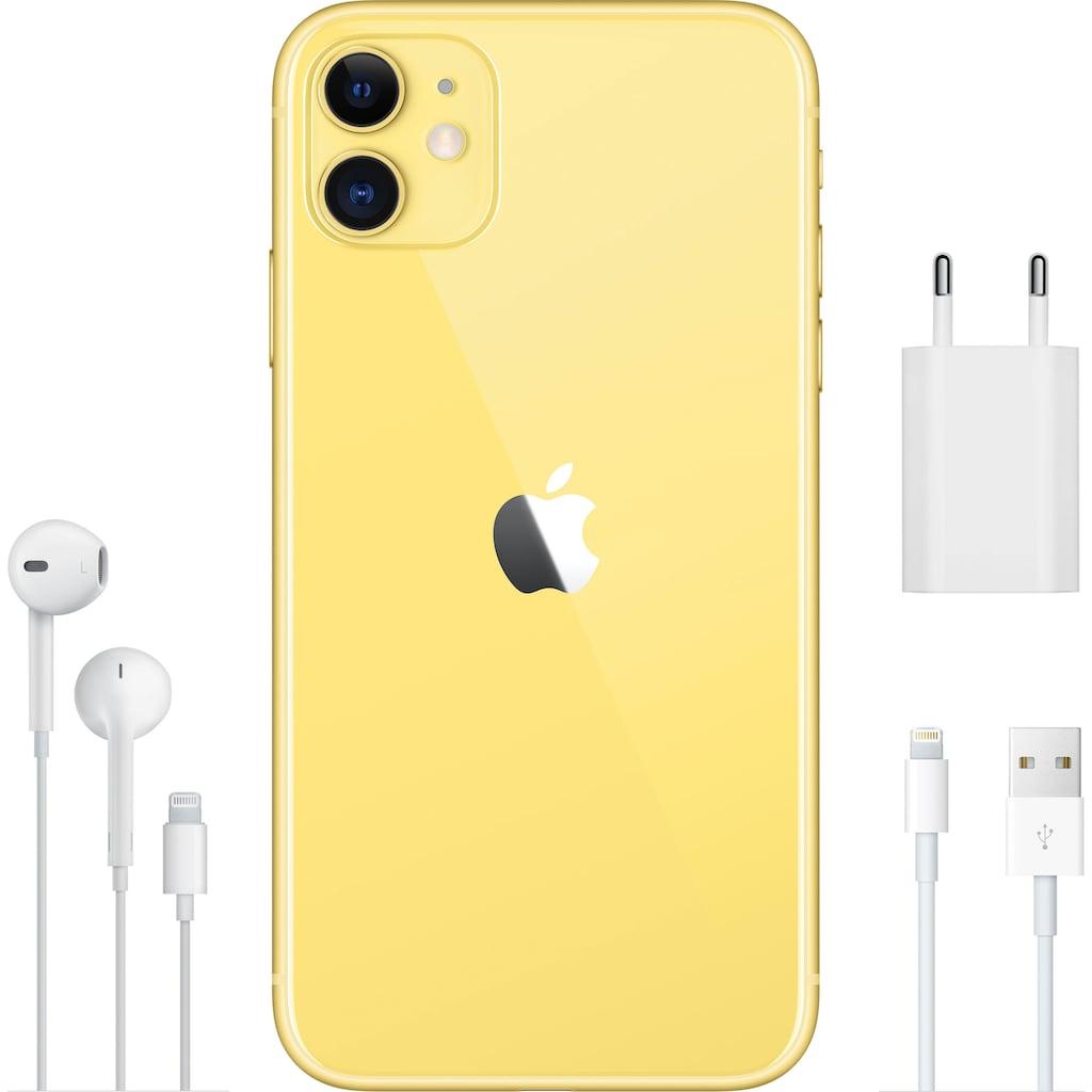 Apple iPhone 11 Smartphone (15,5 cm / 6,1 Zoll, 64 GB, 12 MP Kamera)