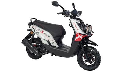 GT UNION Motorroller »PX 55 Cross-Concept«, 8,4 PS, EURO 5 kaufen