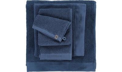Essenza Handtücher »Connect Organic Uni«, (2 St.), Ton-in-Ton Bordüre mit gesticktem Markenlogo kaufen