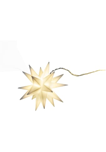 näve LED-Lichterkette »9er-Outdoor-LED-Weihnachtslichterkette 3D-Sterne je 12x9x10,5... kaufen