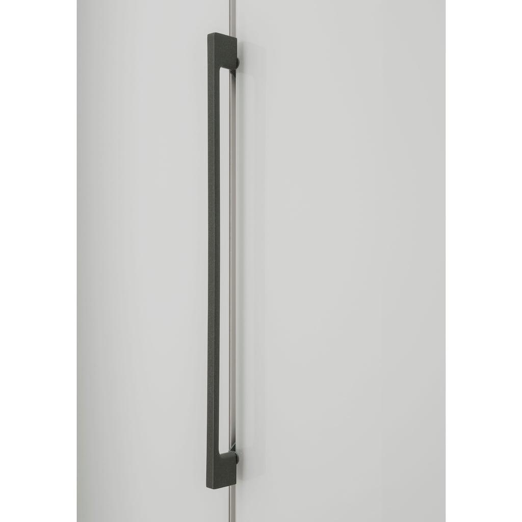 WIEMANN Drehtürenschrank »Monaco«, mit Teil-Glasfront sowie hochwertige Beschläge inkl. Dämpfung