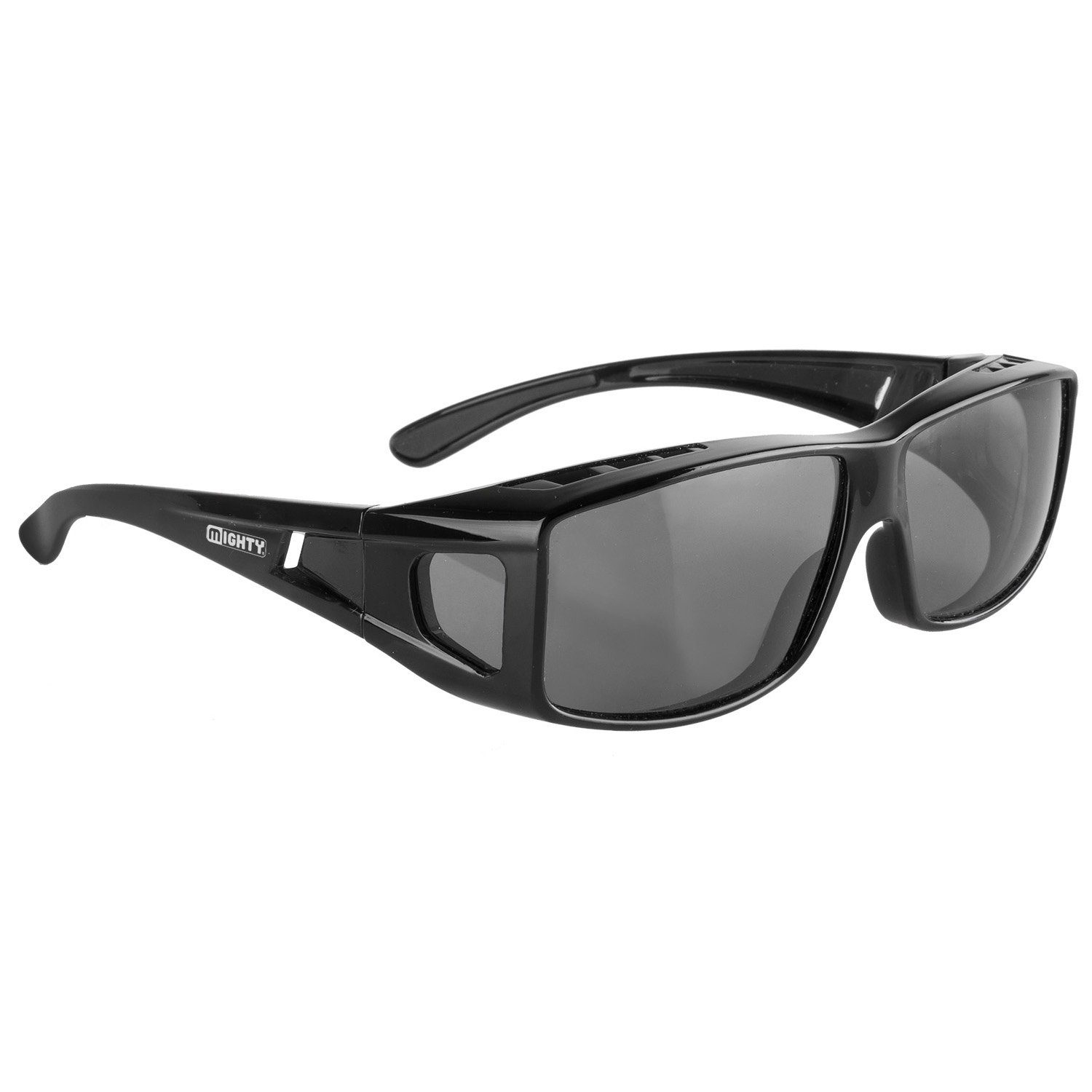 MIGHTY Sport-/Fahrradbrille Rayon Fit Over schwarz Fahrradbrillen Brillen Sportausrüstung Accessoires Fahrrad-Bekleidung Unisex