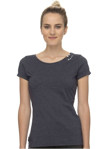 Ragwear Plus T-Shirt »FLORAH A ORGANIC«, mit Zierknöpfen und charakteristischen... kaufen