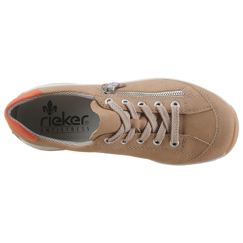 Rieker Sneaker, mit Kontrastbesatz