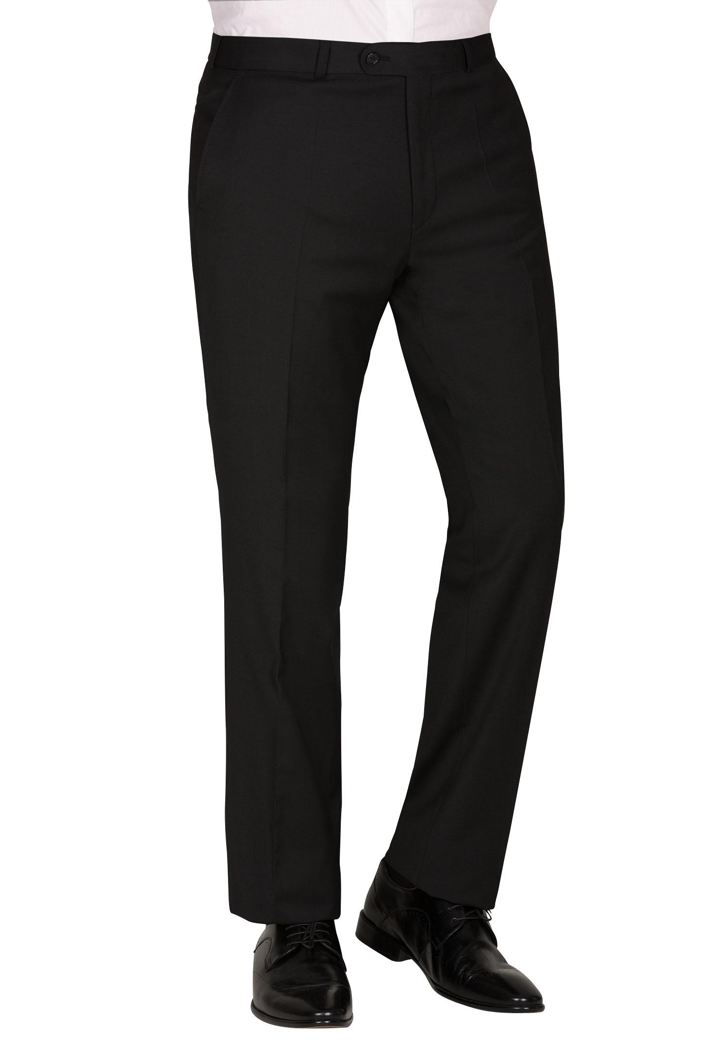 CARL GROSS Anzughose CG TR-Sascha_A | Bekleidung > Hosen > Anzughosen | Schwarz | Baumwolle | Carl Gross