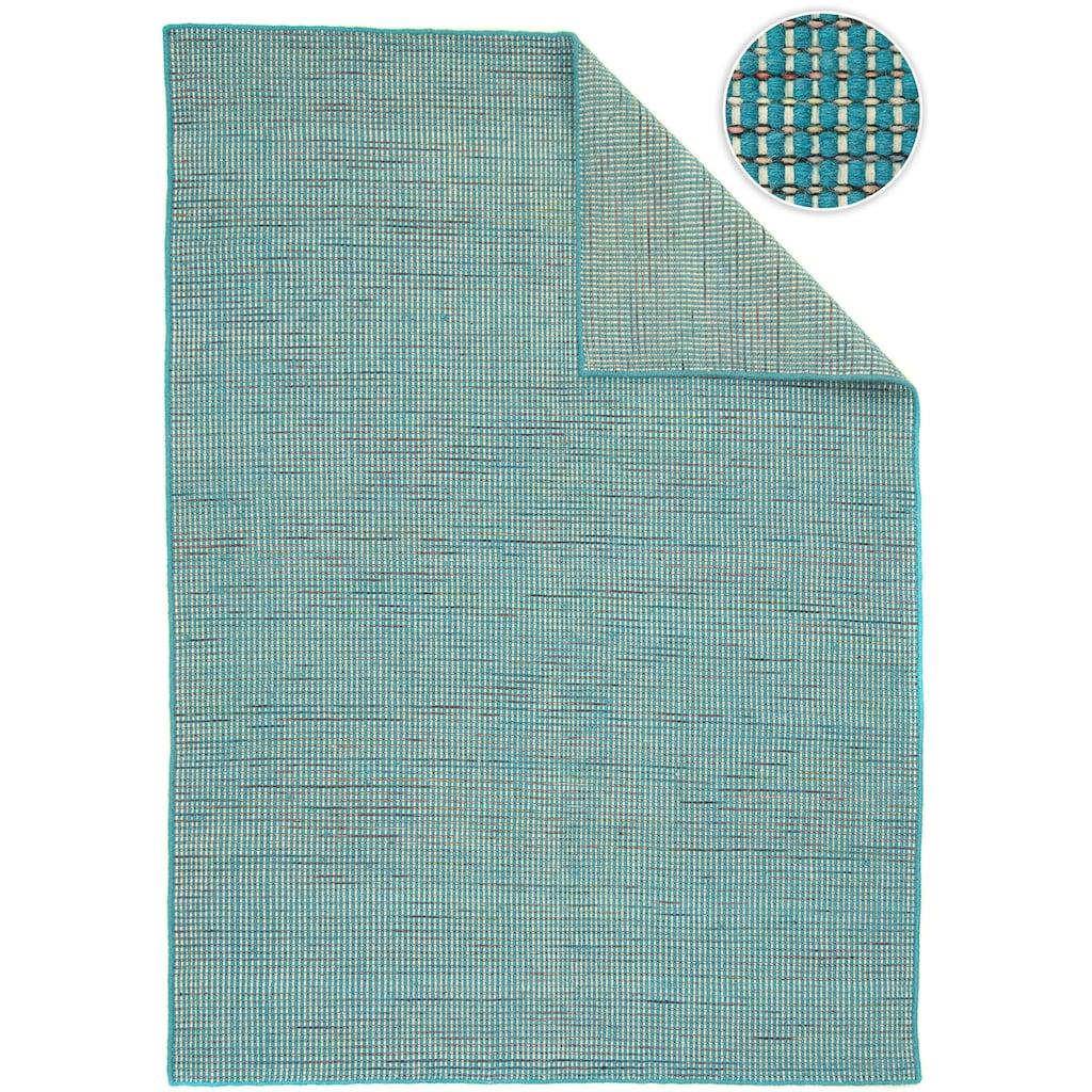 morgenland Wollteppich »Kelim Teppich Arvin«, rechteckig, 10 mm Höhe, Kurzflor