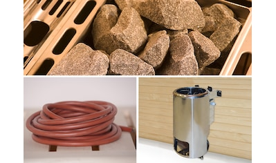 WEKA Saunaofen »Kompakt«, 3,6 kW, integrierte Steuerung, mit Anschlusskabel kaufen