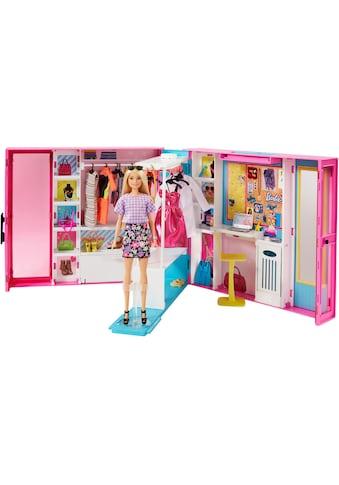 Mattel® Puppenkleiderschrank »Barbie Fashionistas Traum Kleiderschrank«, inkl. Puppe kaufen