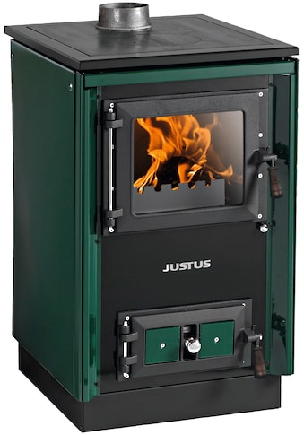 JUSTUS Festbrennstoffherd »Rustico - 50 2.0«, Stahl, 7 kW, Herdplatte kaufen