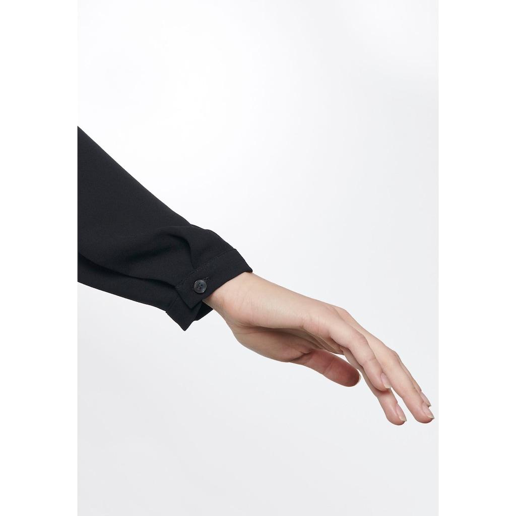 seidensticker Wickelbluse, aus weich fließender Qualität