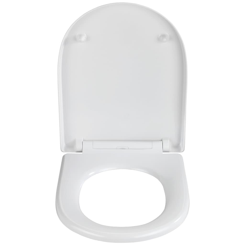 WENKO WC-Sitz »Exclusive Nr. 10«, aus Duroplast, mit Absenkautomatik