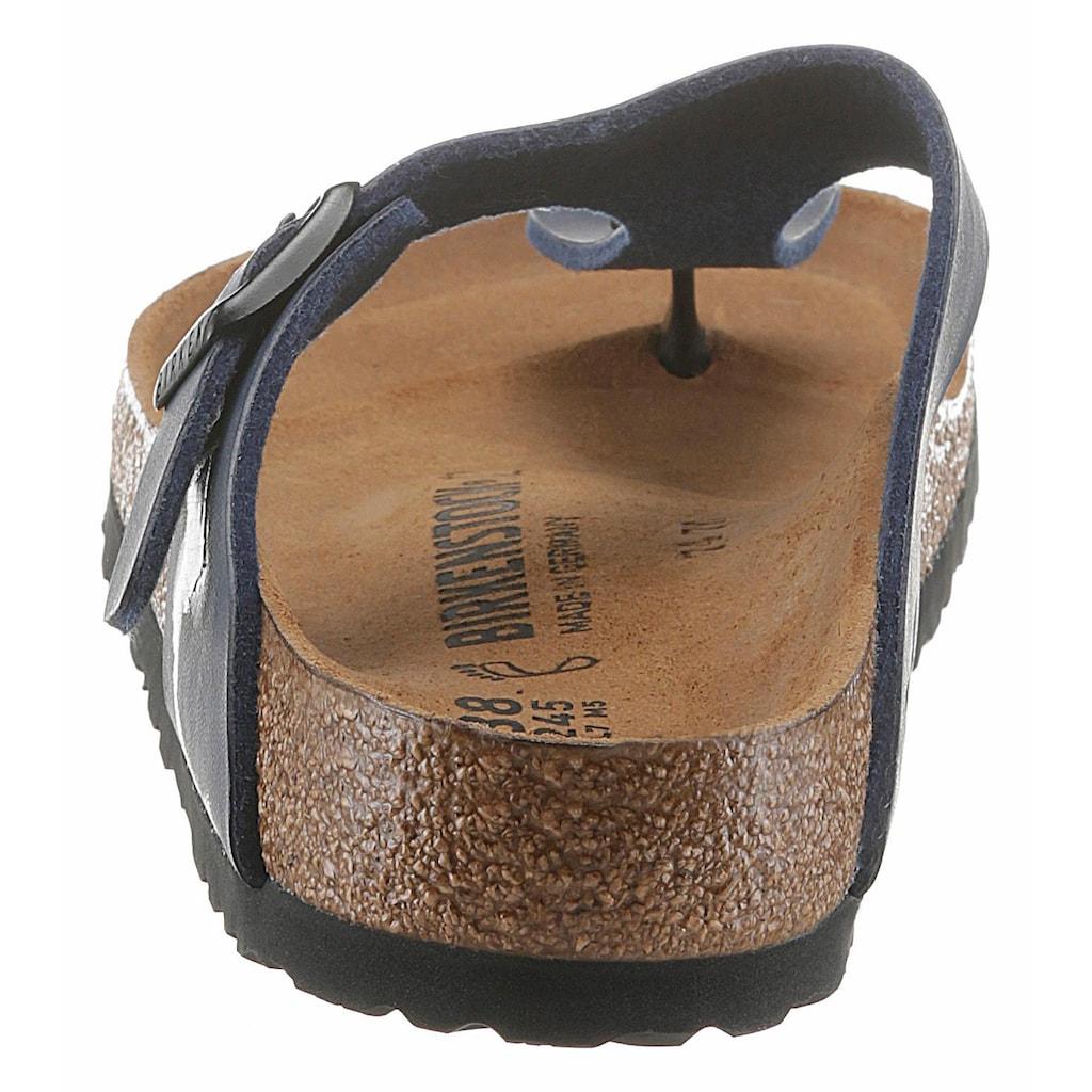 Birkenstock Zehentrenner »GIZEH BF«, mit verstellbarem Riemchen