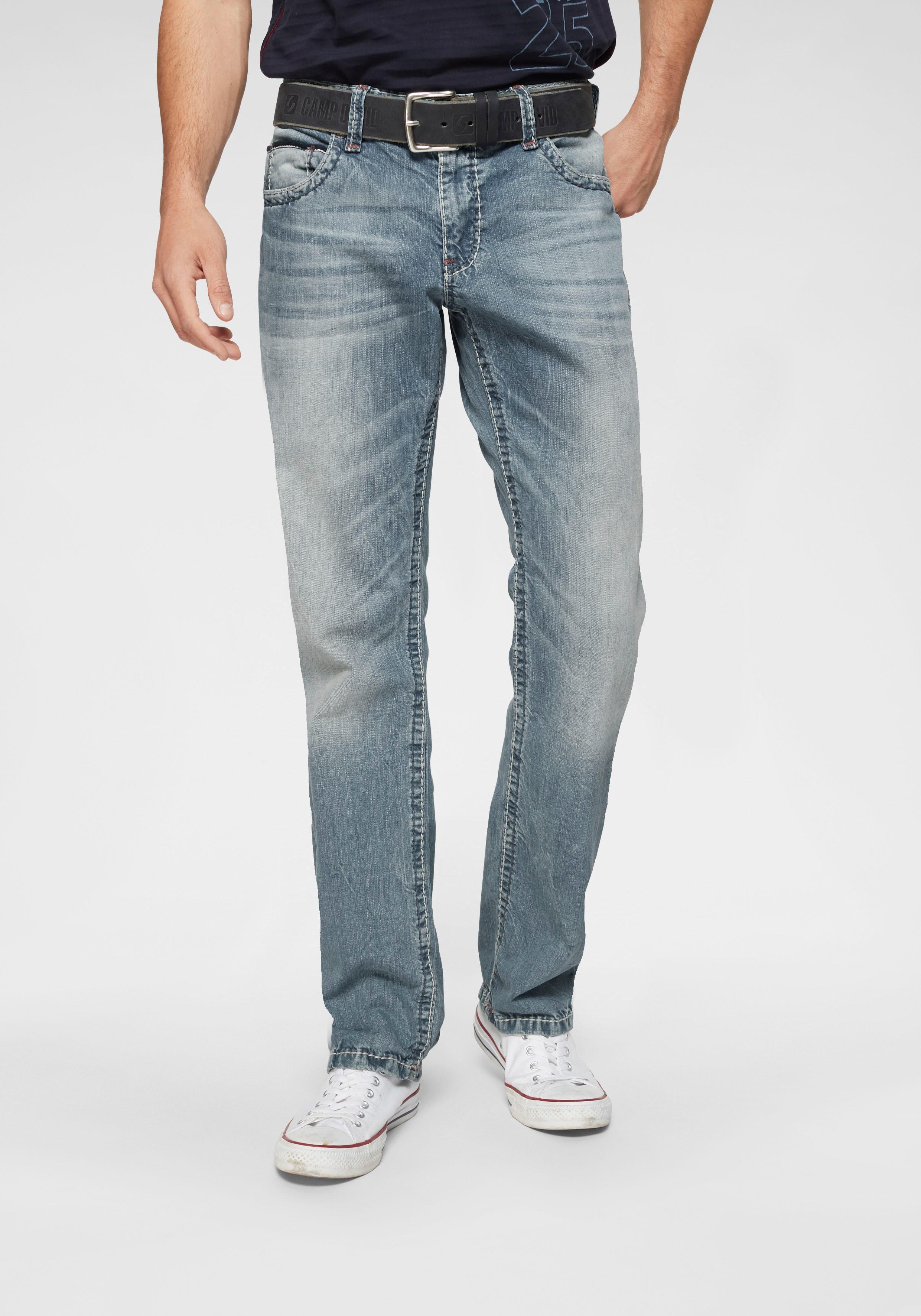 CAMP DAVID Loose-fit-Jeans CO:NO:C622   Bekleidung > Jeans   Blau   Camp David