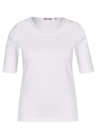 Rabe Rundhalsshirt, mit unifarbenem Stoff und Rundhalsausschnitt kaufen