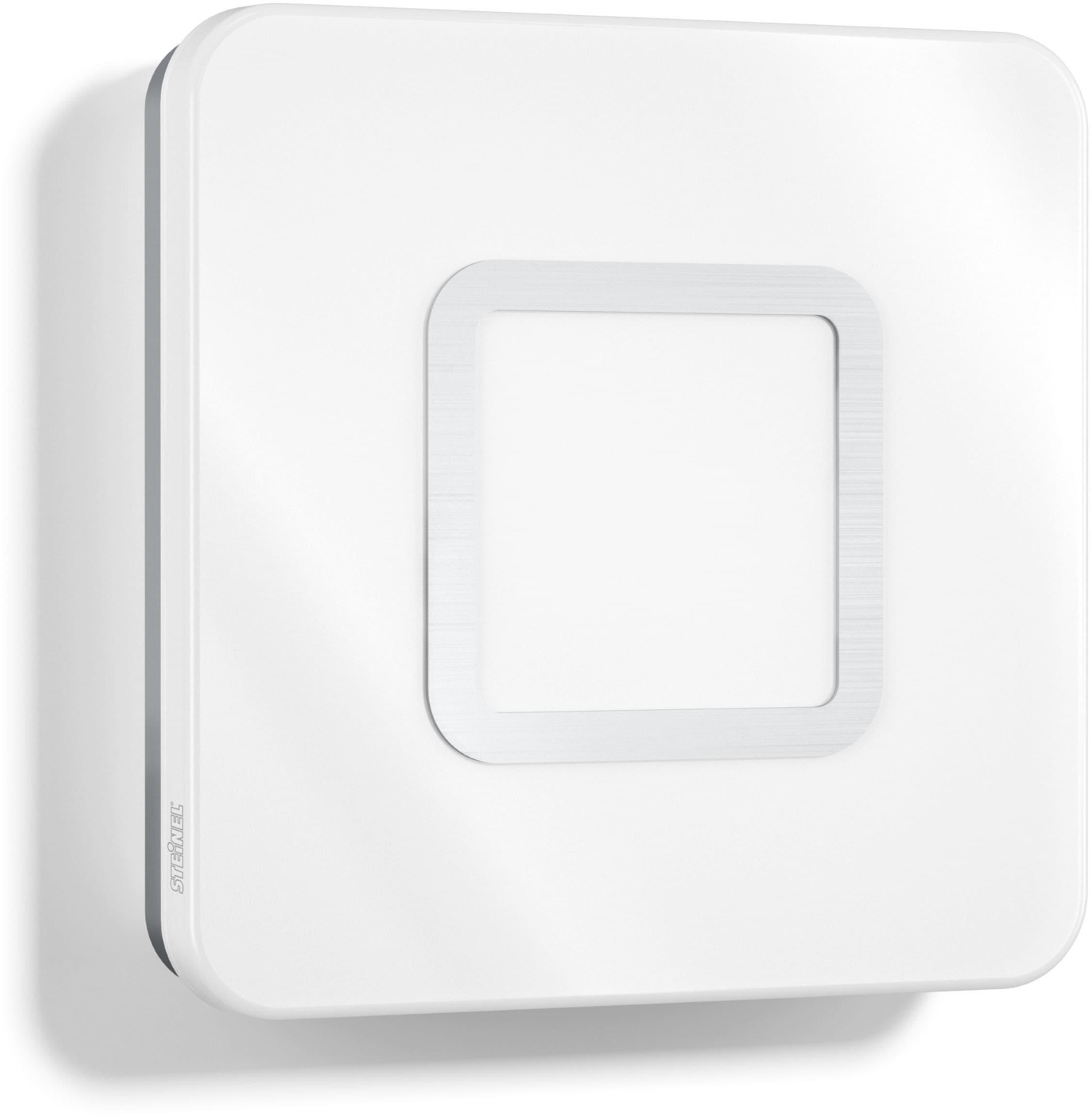 steinel LED Wandleuchte RS LED M1, LED-Board, Warmweiß, 360° Bewegungsmelder, Zeit- und Dämmerungsschwelle einstellbar