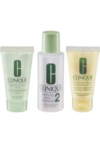 CLINIQUE Gesichtreinigungs-Set »3-Phasen-Systempflege Hauttyp 2« kaufen