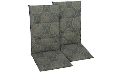 GO - DE Sesselauflage , (2er Set), (L/B): ca. 108x48 cm kaufen