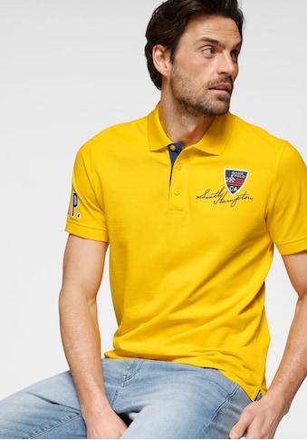 TOM TAILOR Polo Team Poloshirt, mit Stickerei und Markenlabel kaufen