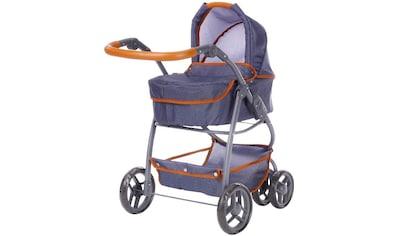 """Knorrtoys® Puppenwagen """"Coco  -  Dark Blue"""" kaufen"""