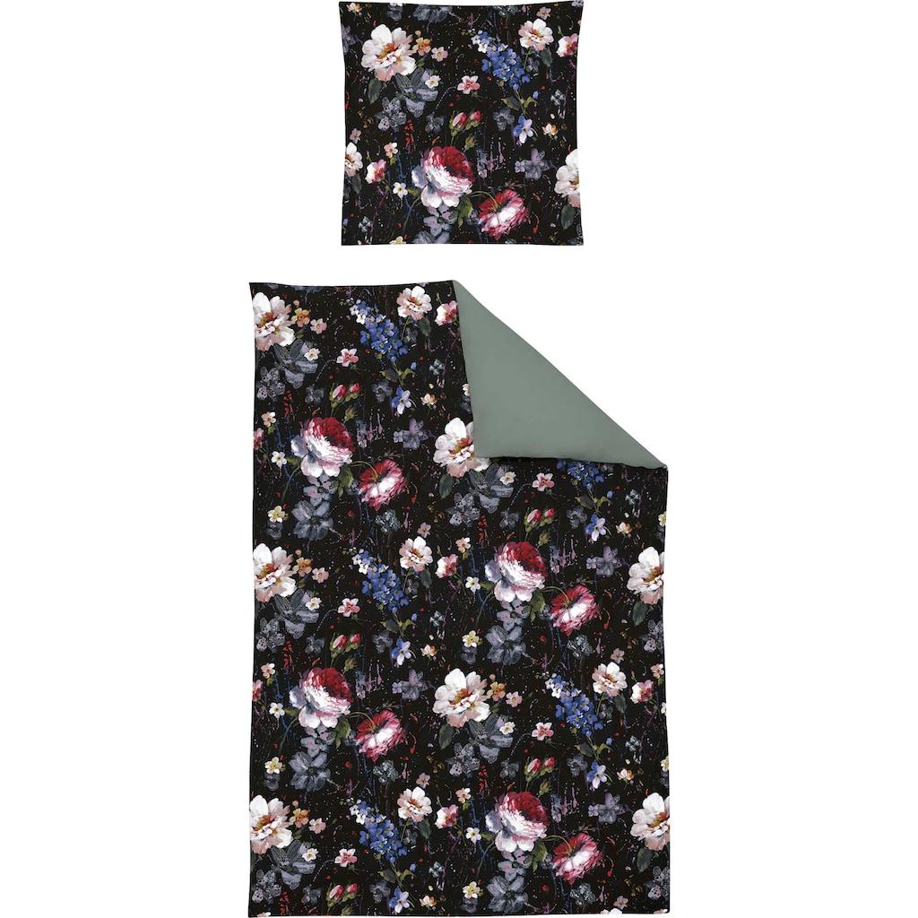 Irisette Wendebettwäsche »Opal 8817«, floraler Digitaldruck
