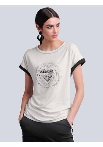 Alba Moda T-Shirt, mit Druckmotiv im Vorderteil kaufen