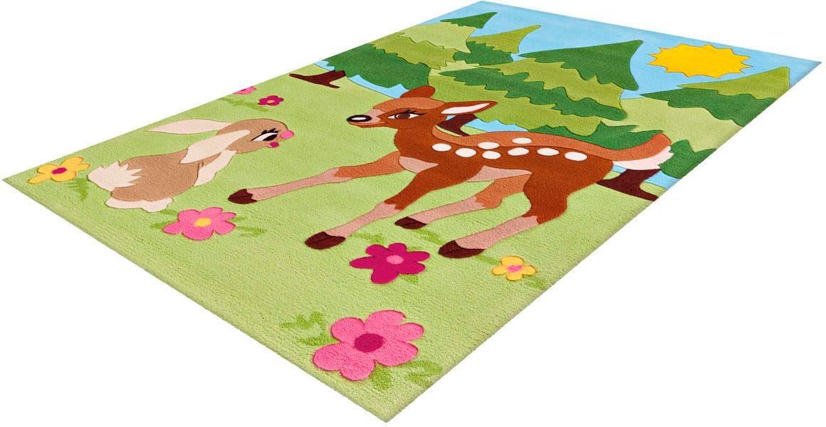 Arte Espina Kinderteppich Joy 4175, rechteckig, 16 mm Höhe bunt Kinder Bunte Kinderteppiche Teppiche