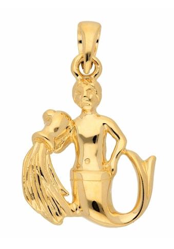 Adelia´s Kettenanhänger »585 Gold Sternzeichen Anhänger Wassermann« kaufen