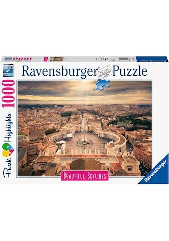 "Ravensburger Puzzle ""Puzzle Highlights Beautiful Skylines  -  Rome"" kaufen"