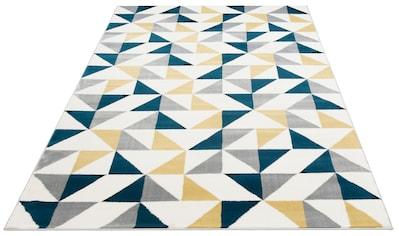 Teppich, »Amina«, Bruno Banani, rechteckig, Höhe 11 mm, maschinell gewebt kaufen