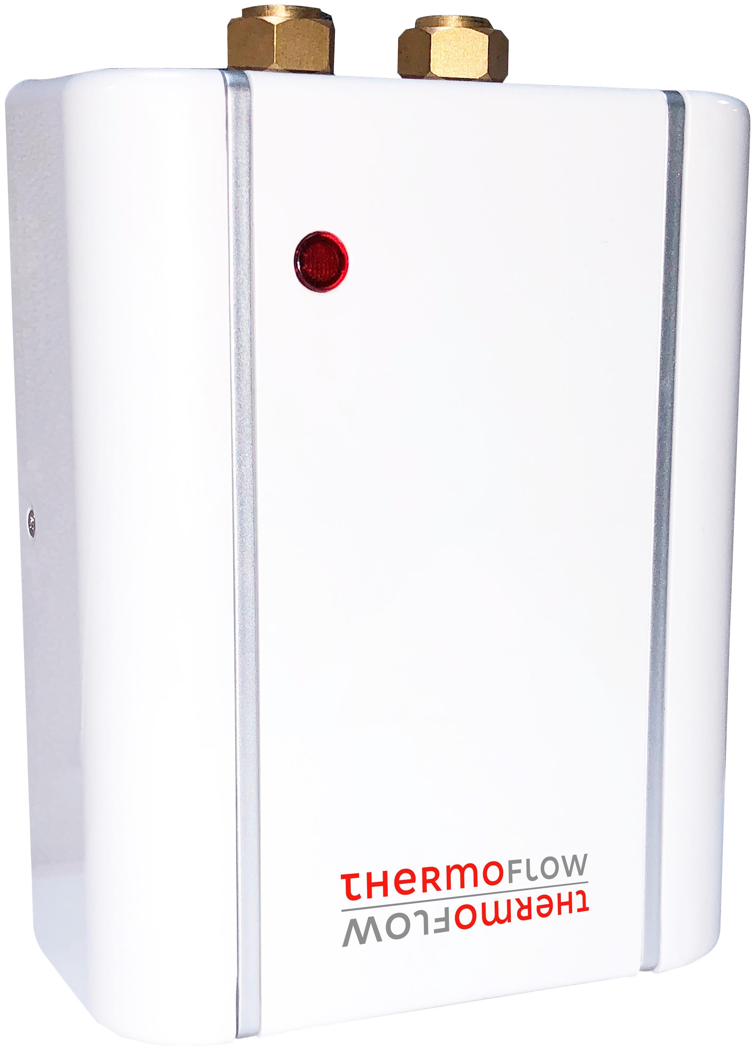 Thermoflow Klein-Durchlauferhitzer Elex 5,5 A (A+ bis F) weiß Heimwerken Garten