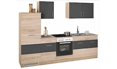 Küchenzeile »Perth«, mit E - Geräten, Breite 270 cm kaufen