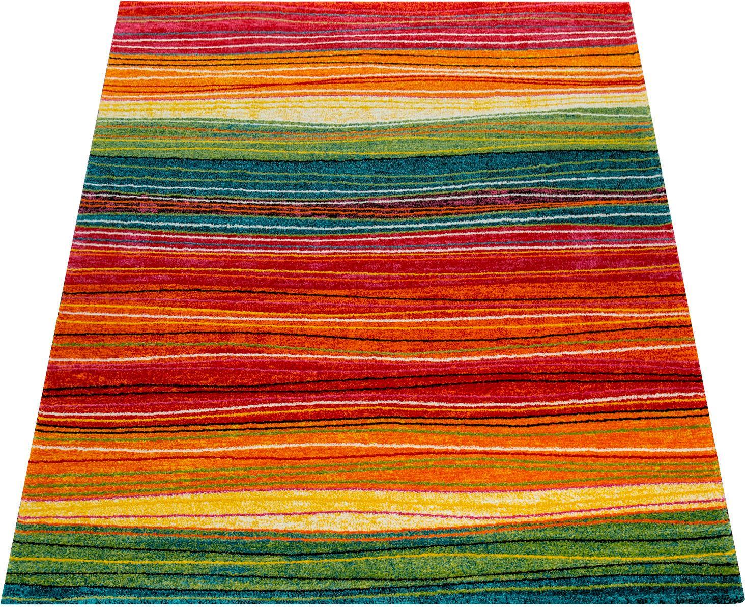 Teppich Canvas 773 Paco Home rechteckig Höhe 18 mm maschinell gewebt