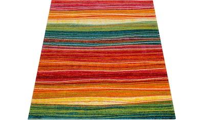 Paco Home Teppich »Canvas 773«, rechteckig, 16 mm Höhe, Kurzflor, Wohnzimmer kaufen