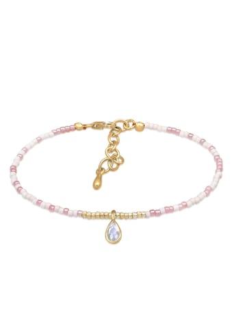 Elli Armband »Beads Trend Basic Mondstein 925 Sterling Silber« kaufen
