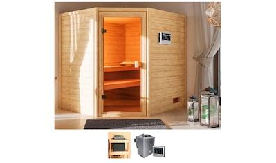 KARIBU Sauna »Ellen«, 195x169x187 cm, 9 kW Bio - Ofen mit ext. Steuerung kaufen