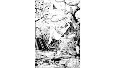 Wall-Art Acrylglasbild »Drawstore - Swampland«, 40/60 cm kaufen